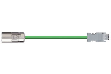 readycable® encoder cable similar to Omron R88A-CRWA-xxxC-DE, base cable PVC 10 x d