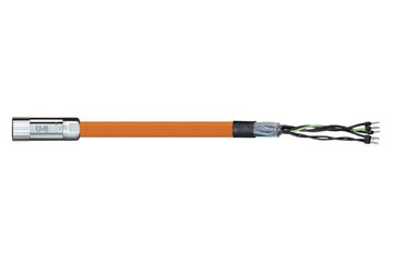 readycable® motor cable suitable for Parker iMOK54, base cable iguPUR 15 x d