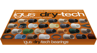 dry-tech® plain bearing sample box