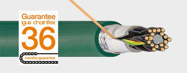 Cables that are suitable for cleanrooms