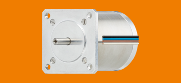 Stepper motor drylin E with IP00 protection class - vacuum