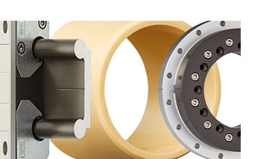 dry-tech bearing technology: linear bearings, plain bearings, slewing ring bearings