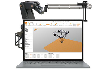 Robot control system with software and hardware from igus®